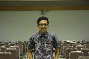 Ketua Pelaksana Kurma 1439 Ilham Hidayat Bismark. Semoga tetap istiqomah untuk terus mengadakan kegiatan keislaman di Kampus Gunadarma