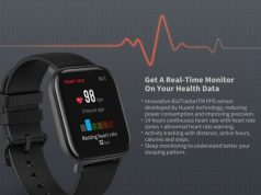 Smartwatch Amoled Display GPS